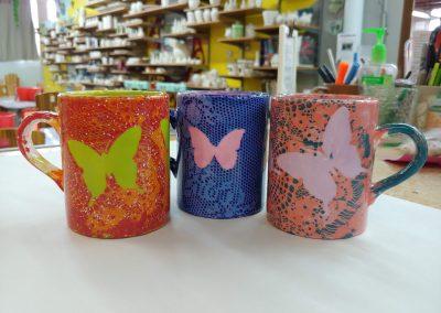 Butterfly Resist Mugs