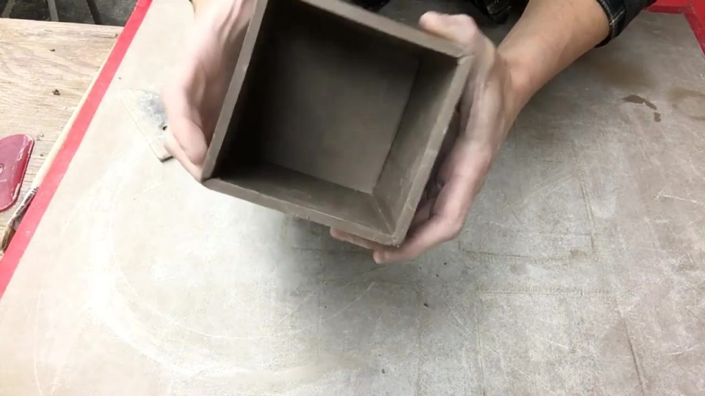 Making a Box with Hard Slabs