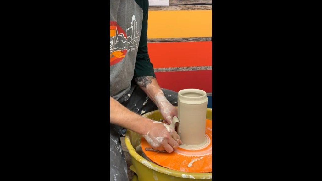 Faceting a Pot
