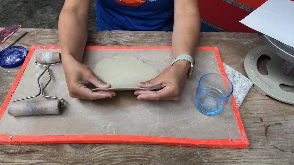 Handbuilding a Catch-All Dish